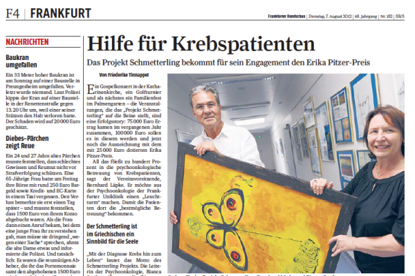 Frankfurter Rundschau 7.8.2012
