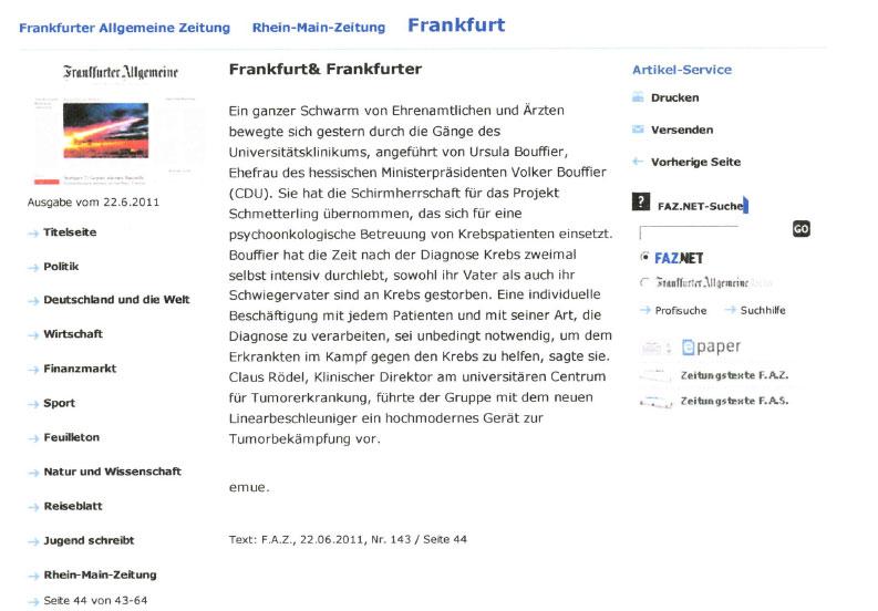 Frankfurt & Frankfurter