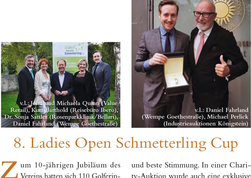 8. Ladies Open Schmetterling Cup